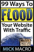 Summary of 99 Ways to Flood Your Website With Traffic By Mick Macro