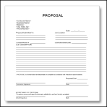 Construction Proposal Template 5