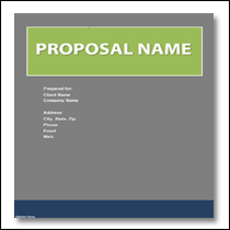 Charmant Generic Business Proposal Template 2