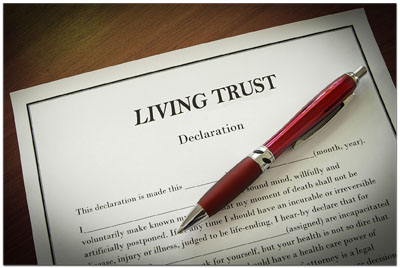 revocable living trust with pen