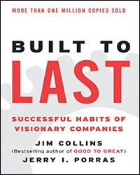 Cover of book:Built to last successful habits of visionary companies