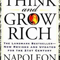 Book Cover of Think and Grow Rich By Napoleon Hill